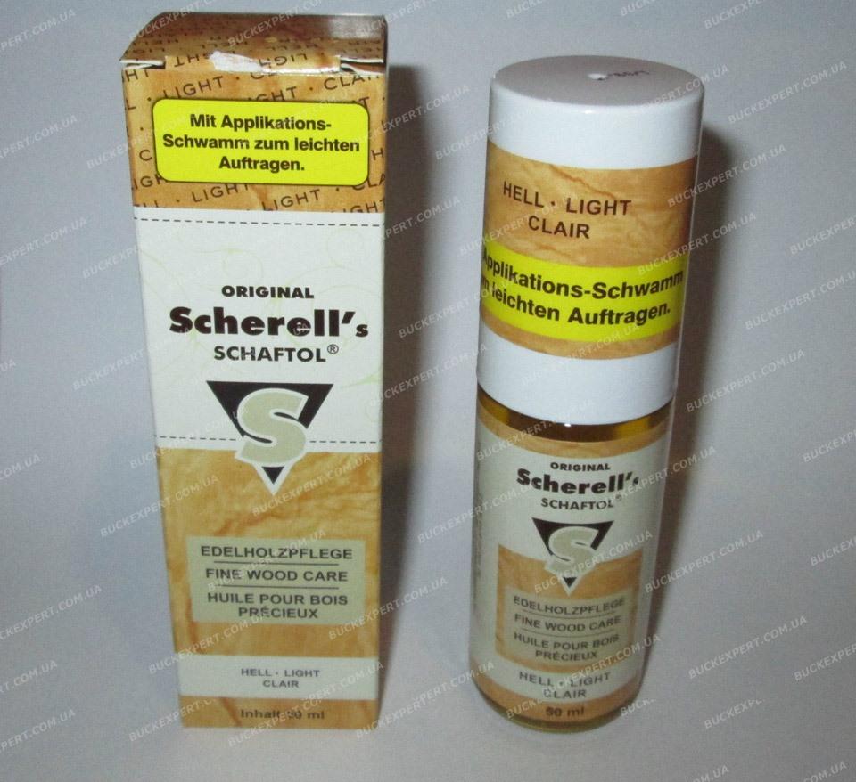 Средство для обработки дерева Klever - Ballistol Scherell Schaftol бесцветное