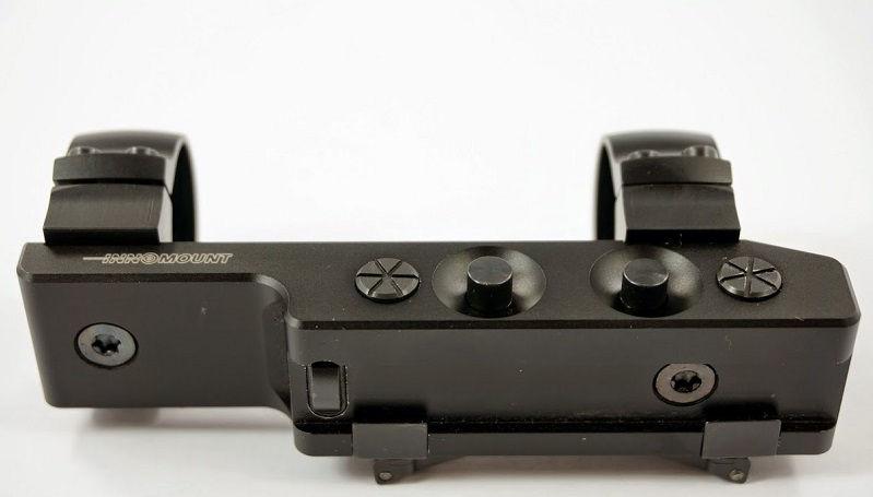 Кронштейн Innomount на призму 10-12 мм (ласточкин хвост) с кольцами 25.4 мм быстросьемный