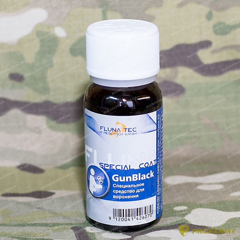 Средство Fluna GunBlack для холодного воронения