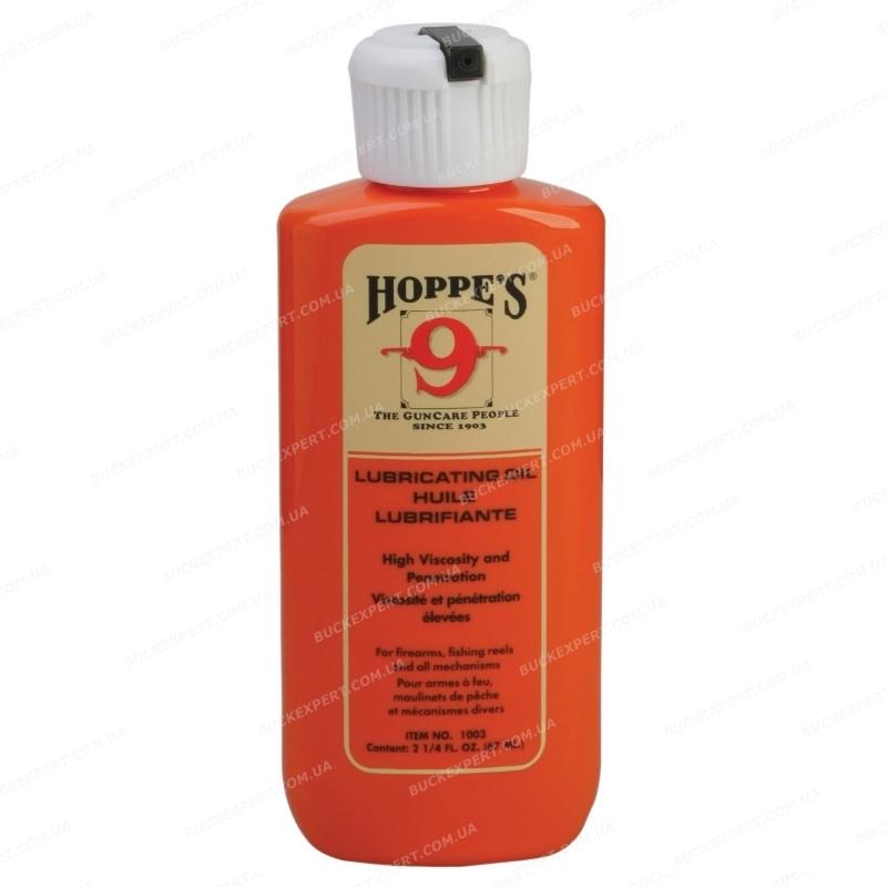 Оружейное масло Hoppe`s повышенной вязкости масленка