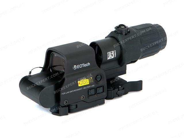 Комплект EOTech HHS1 - коллиматорный прицел EXPS3-4 и увеличитель G33