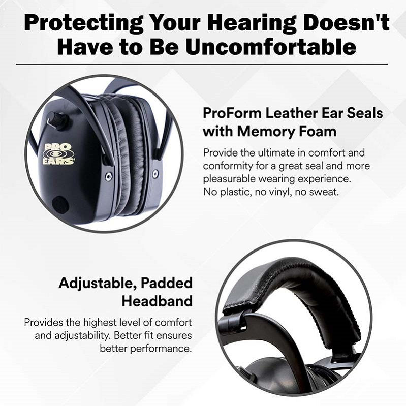 Наушники Pro Ears Pro Mag Gold стерео стрелковые активные зеленые