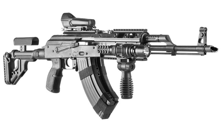 Рукоятка Fab Defense пистолетная для AK-47 / AK-74 / Сайга прорезиненная