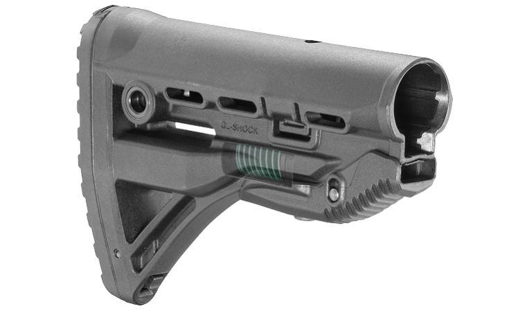 Приклад Fab Defense для AR15 / M4 / M16 с компенсатором отдачи