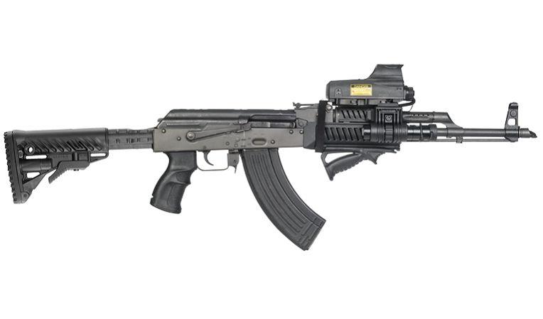 Приклад  Fab Defense для АК-47 телескопический