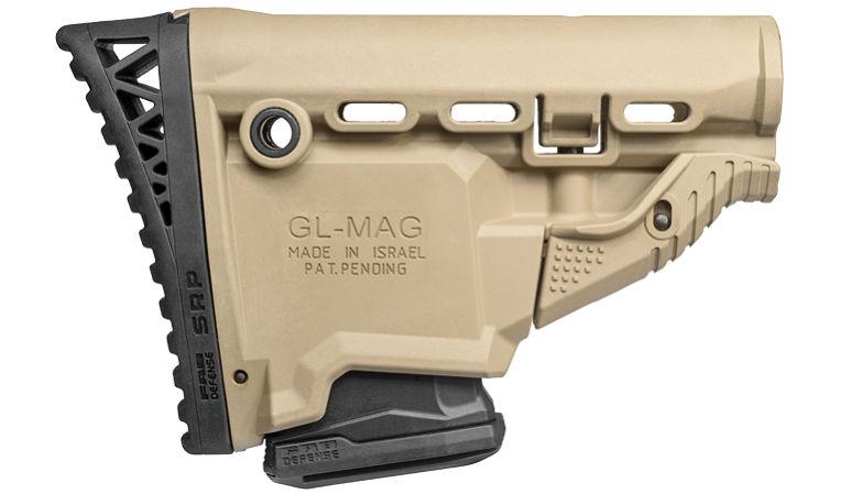 Затыльник Fab Defense для приклада снайперский прорезиненный