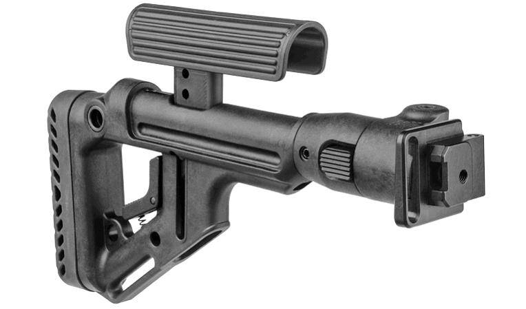 Приклад Fab Defense для АКС-74 / АКСУ-74 складной с регулируемой щекой
