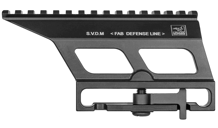 Кронштейн Fab Defense боковой на СВД для установки прицела
