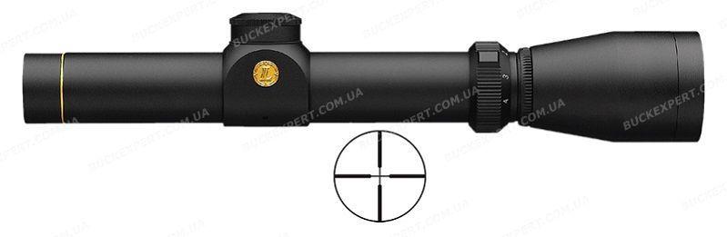 Оптический прицел Leupold VX-1 Muzzleloader 1-4х20 сетка Heavy Duplex без подсветки