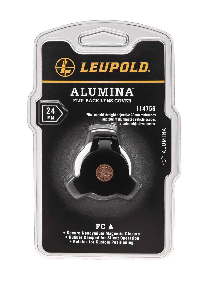 Крышка Leupold Alumina Flip-Back на обьектив диаметром 24 мм откидная