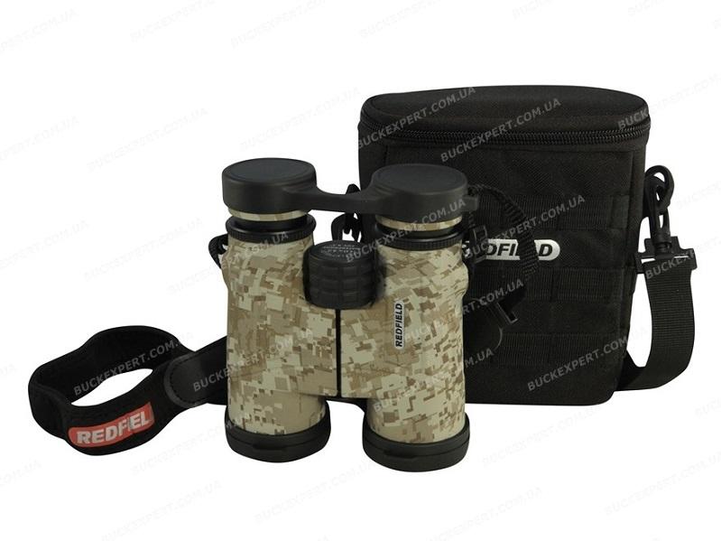 Бинокль Redfield Battlefield Tactical 10x42 Desert Digital Camo с дальномерной шкалой