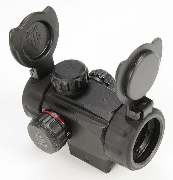 Коллиматорный прицел Leapers UTG 1х28 Sub-compact ITA с двухцветной точкой 4 МОА быстросъемный