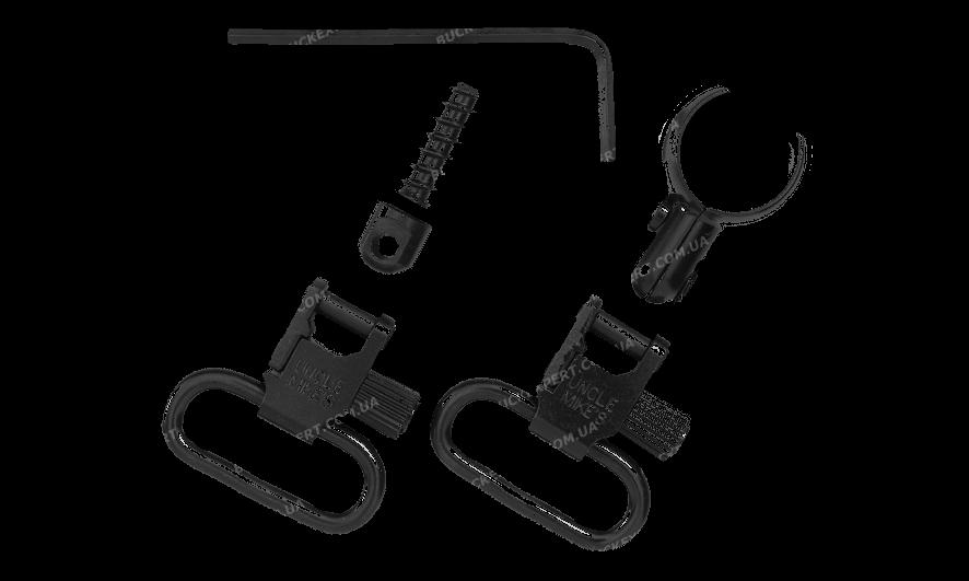 Антабки Uncle Mike`s на приклад и на ствол для диаметра ствола или магазина от 20.32 до 21.59 мм