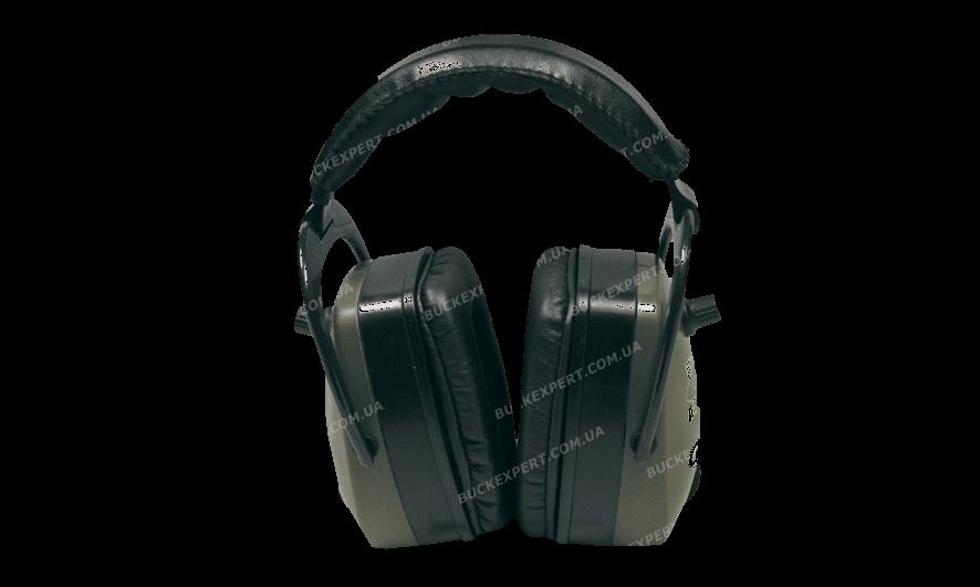 Наушники стрелковые активные Pro Ears Pro Mag Gold стерео зеленые