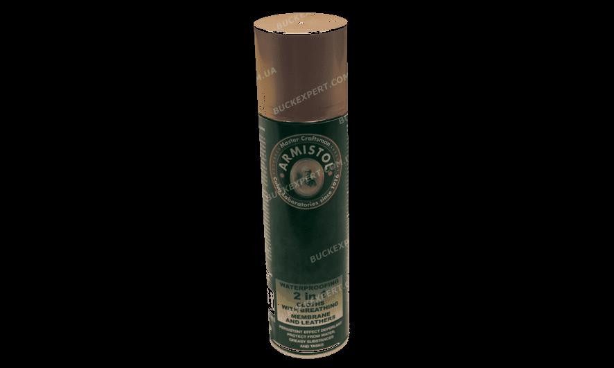 Защита ткани и кожи Armistol от воды и грязи аэрозоль 250 мл