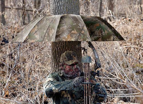 Зонт - укрытие Allen для охоты камуфляжный