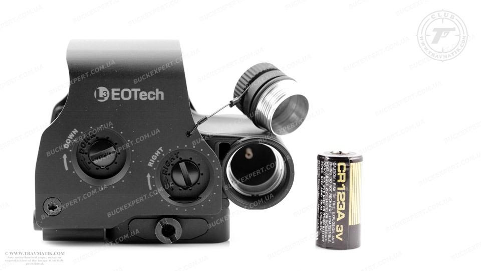 Коллиматорный прицел EOTech EXPS3-4 с поддержкой ПНВ быстросьемный