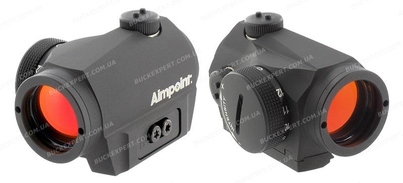 Коллиматорный прицел Aimpoint Micro S-1 с точкой 6 МОА и креплением на вентилируемую планку