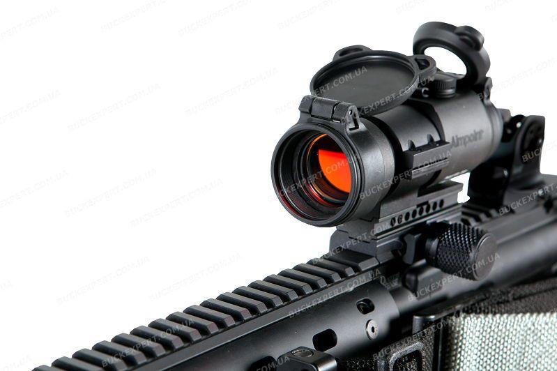 Коллиматорный прицел Aimpoint PRO (Patrol Rifle Optic) с откидными крышками и режимами для ПНВ