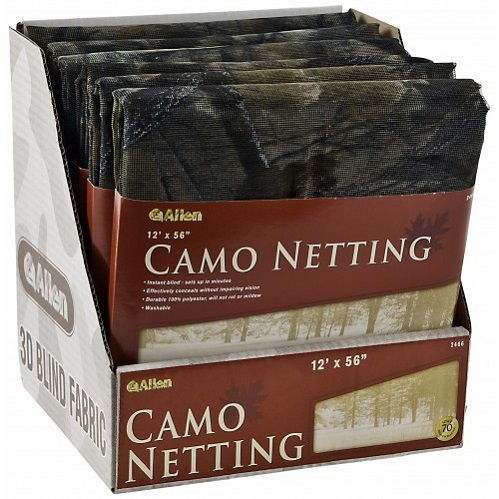 Камуфляжная ткань Allen для создания засидки гладкая в цвете Camo Netting
