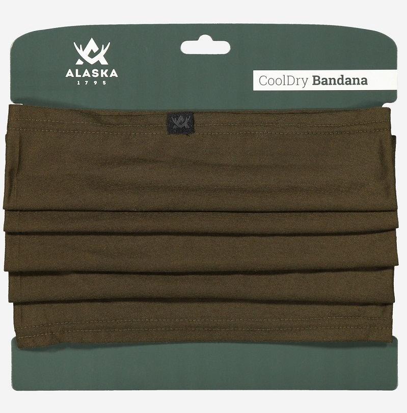 Бандана Alaska коричневая дышащая