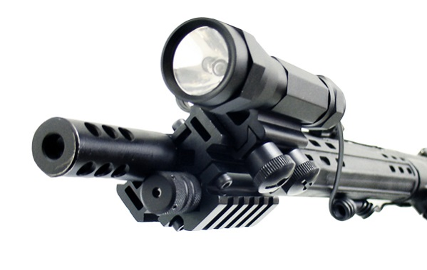 База Weaver для установки на стволы нарезного оружия трехсторонняя