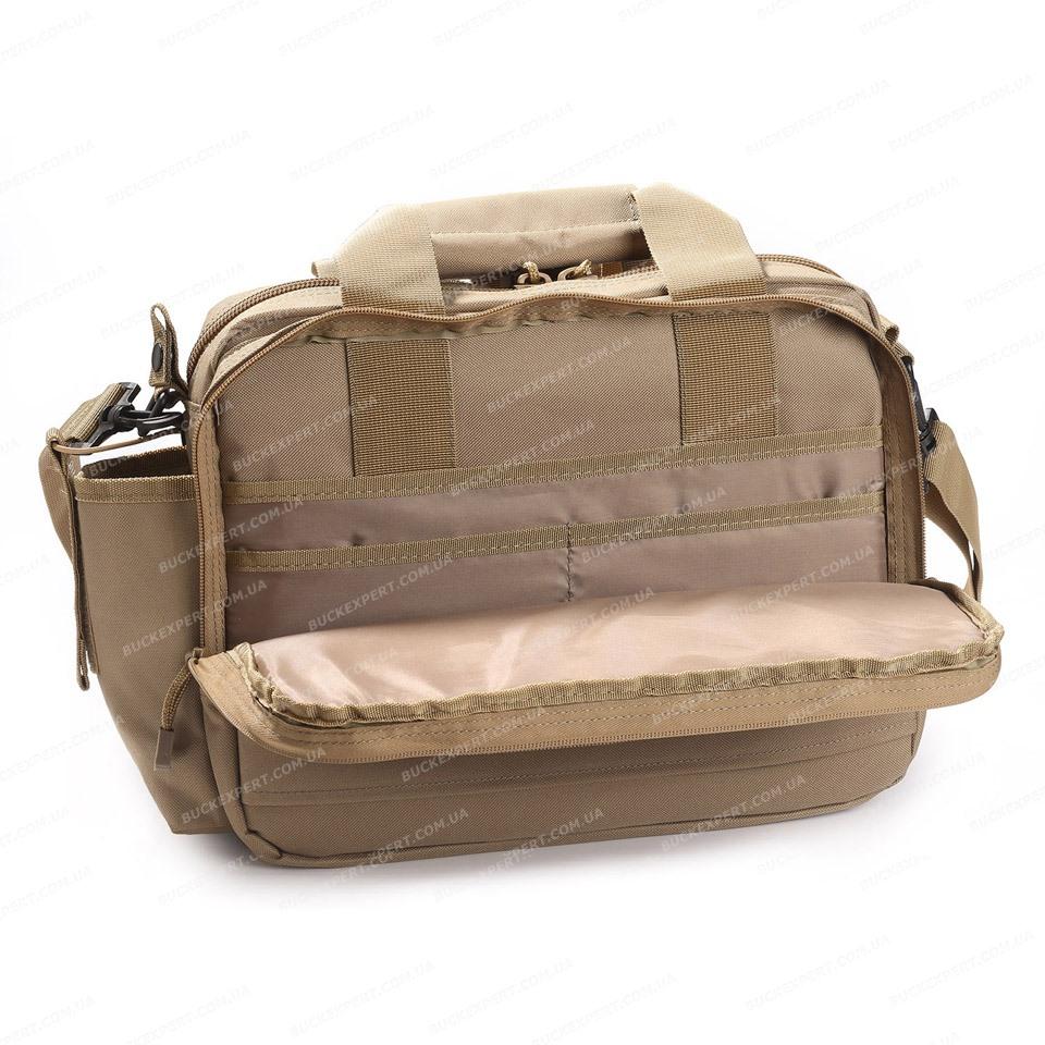 Сумка Allen тактическая отделение для ноутбука пистолета цвет песочный