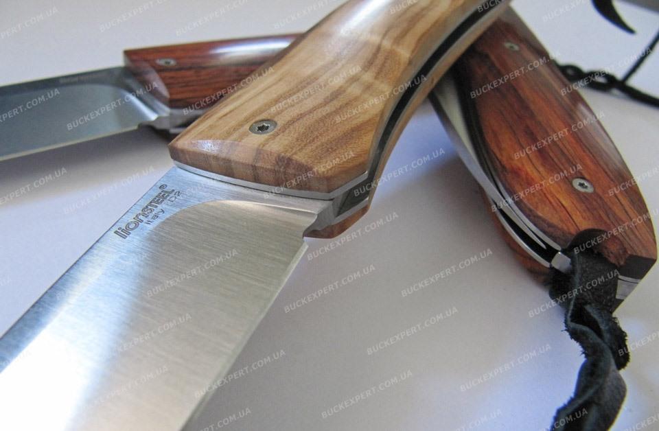 Нож LionSteel Big Opera D2 рукоять - кокоболо или оливковое дерево