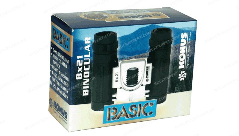 Бинокль Konus Basic 8x21