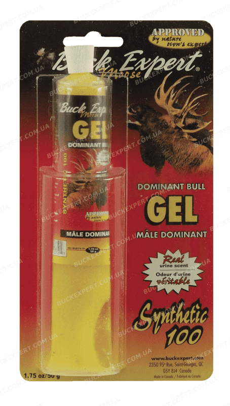 Приманка Buck Expert на лося запах самца гель 50 г