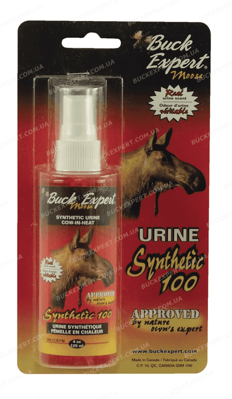 Приманка Buck Expert на лося запах самки спрей 125 мл