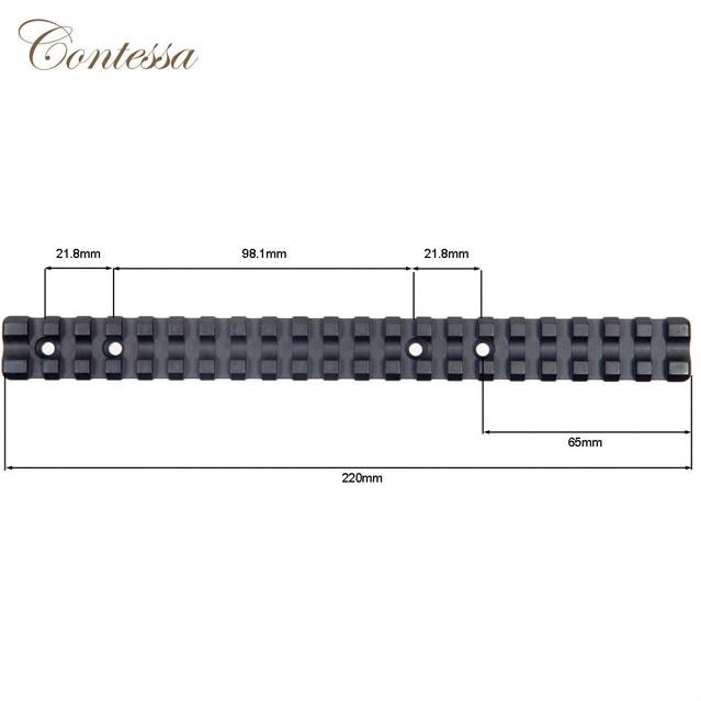 Основание Contessa на Browning A Bolt 3 Long с шиной Picatinny / Weaver