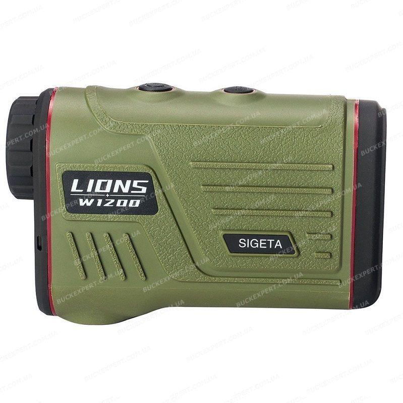 Лазерный дальномер Sigeta Lions W1200A с возможностью измерения высоты, угла и скорости обьекта