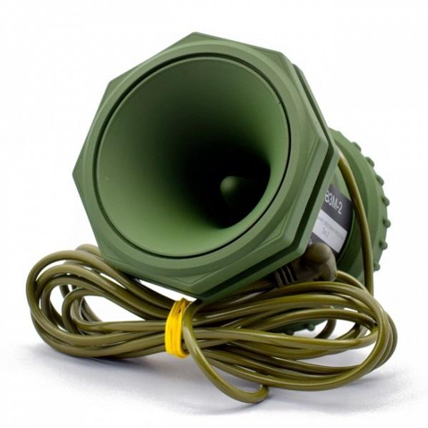 Электронный манок Егерь - 6М и динамик Егерь 2 с голосами для Украины в сумке и чехлами на манок и динамик