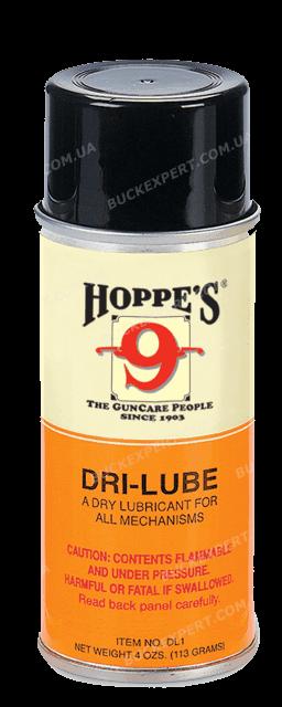 Смазка Hoppe's Dri Lube быстровысыхающая для механических частей аэрозоль
