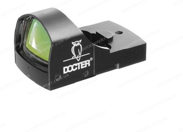 Коллиматорный прицел Docter sight II с авторегулировкой яркости и кронштейном на Weaver