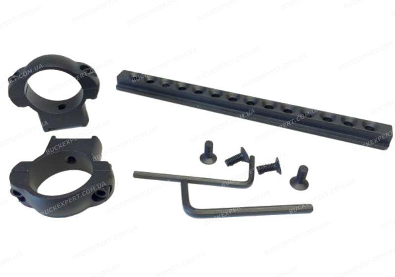 Кронштейн EasyHit для установки коллиматора  на прицел диаметром 30 мм