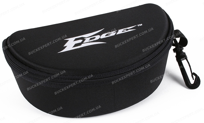 Футляр Edge Eyewear для очков жесткий на замке с карабином
