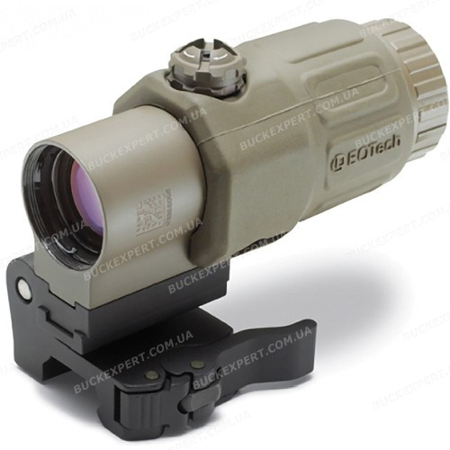 Увеличитель EOTech G33 Tan 3x Magnifier откидной для коллиматорных прицелов