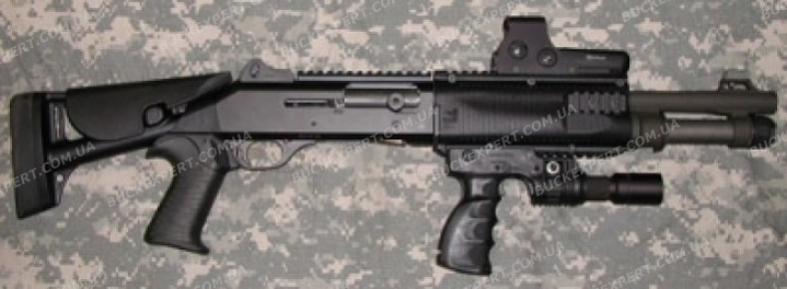 Полимерная система Fab Defense из 4-х планок для Benelli M4