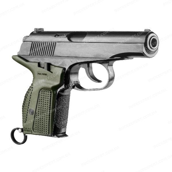 Пистолетная рукоятка Fab Defense для ПМ с извлечением магазина зеленая