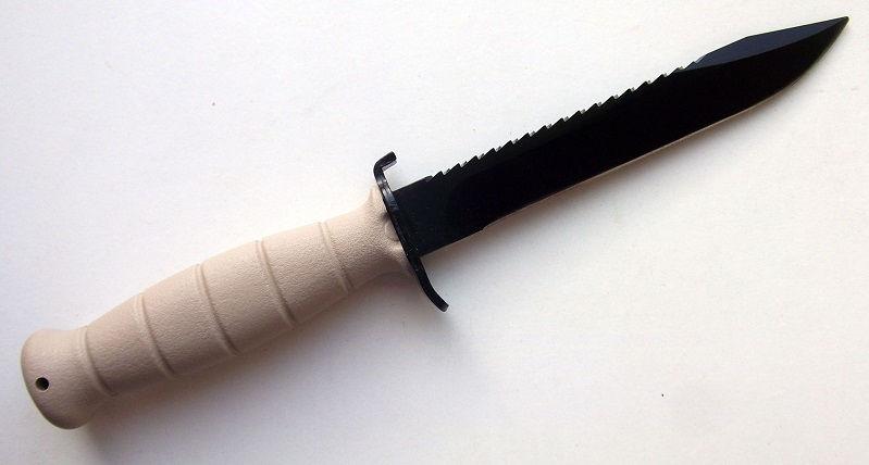 Нож Glock Feldmesser 81 тактический с пилой песочного цвета