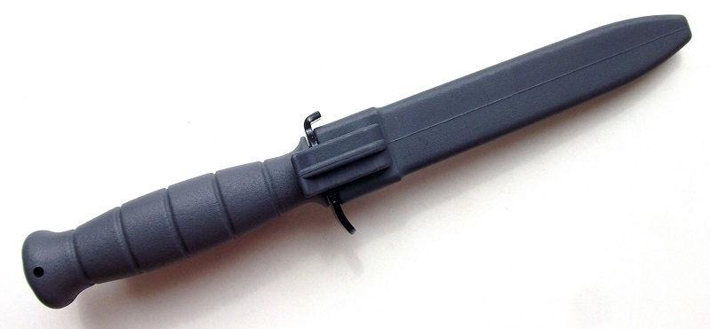 Нож Glock Feldmesser 81 тактический с пилой серого цвета