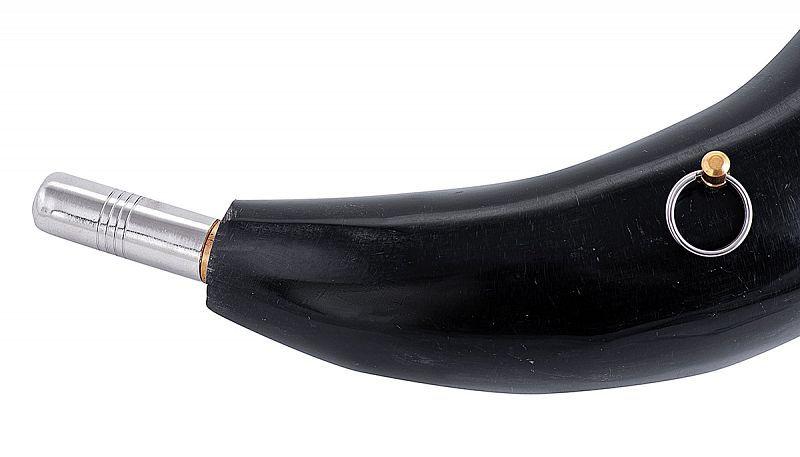Горн охотничий из натурального рога длиной 40 см