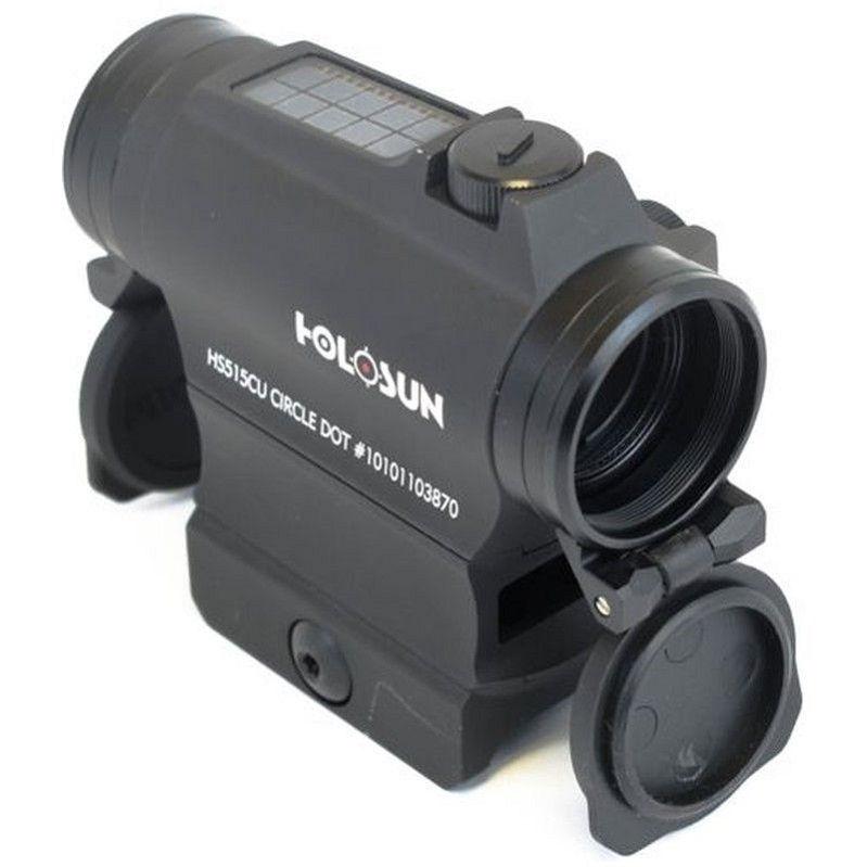 Коллиматор Holosun Micro с солнечной батареей марка сменная + антиблик + U-защита + крышки быстросьемный