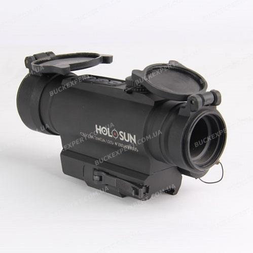 Коллиматорный прицел Holosun Infiniti с лазерным целеуказателем быстросьемный