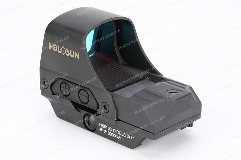 Прицел Holosun Open Reflex с солнечной батареей марка сменная красная коллиматорный быстросьемный