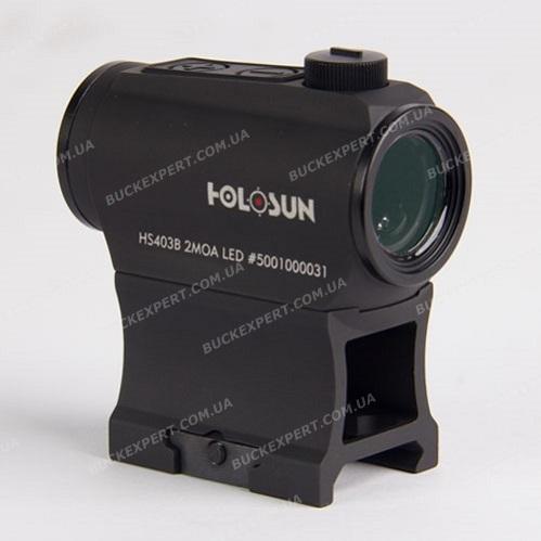Коллиматорный прицел Holosun Paralow с батареей в лотке + кроншт. (AR-15)