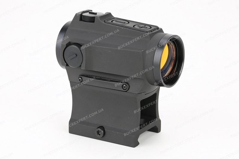 Коллиматорный прицел Holosun Paralow с батареей в лотке марка сменная + крон.(AR-15) + U-защита