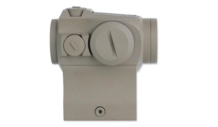 Коллиматор Holosun Paralow с батареей сбоку марка сменная + кроншт. (AR-15) + U-защита песочный